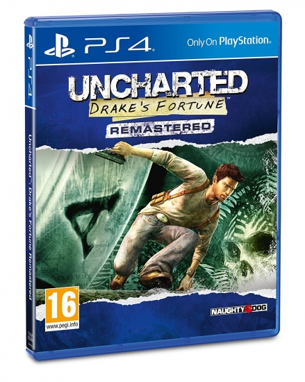 Uncharted: Drake's Fortune - Remastered (deutsch) (EU PEGI) (PS4)