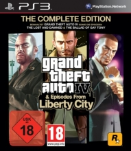 Grand Theft Auto IV & Episodes from Liberty City - The Complete Edition [uncut] (deutsch) (AT) (PS3)
