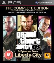 Grand Theft Auto IV & Episodes from Liberty City - The Complete Edition [uncut] (deutsch) (PS3)