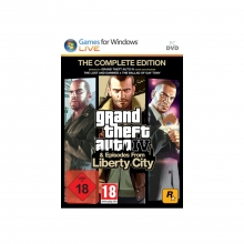 Grand Theft Auto IV & Episodes from Liberty City - The Complete Edition [uncut] (deutsch) (AT) (PC)