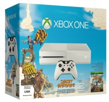 Xbox One 500 GB Konsole (weiss) inkl. Sunset Overdrive (DLC)