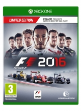 F1 2016 (Formula 1 2016) - Limited Edition (deutsch) (AT PEGI) (XBOX ONE)