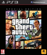 Grand Theft Auto V - Special Edition [uncut] (deutsch) (NL) (PS3) + Atomic-Luftschiff DLC
