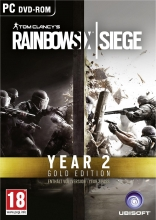 Tom Clancy's Rainbow Six Siege - Gold Edition Season 2 (deutsch) (AT PEGI) (PC DVD)