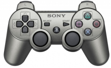 Dualshock 3 Wireless Controller Slate Grey (grau) (PS3)