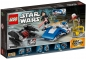 Preview: LEGO Star Wars 75196 A-Wing vs. TIE Silencer Microfighters [neu]