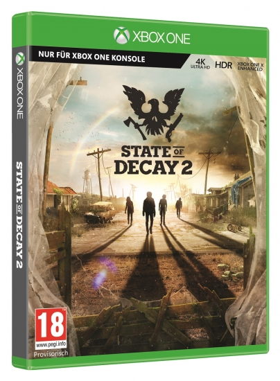 State of Decay 2 [uncut] (deutsch) (AT PEGI) (XBOX ONE) inkl. Survival Pack