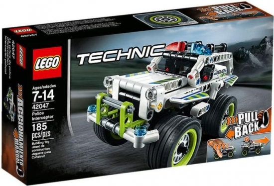 LEGO Technic 42047 - Polizei-Interceptor [neu]