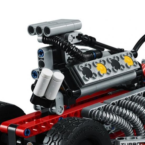 lego technic 42050 drag racer neu. Black Bedroom Furniture Sets. Home Design Ideas
