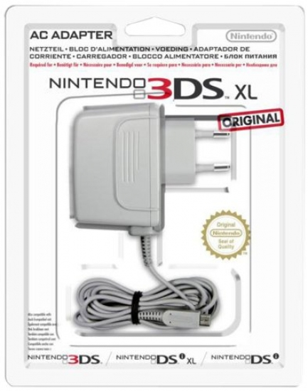 Nintendo 3DS / 3DS XL / DSi / DSi XL - Power Adapter [gebraucht] (Stromkabel)