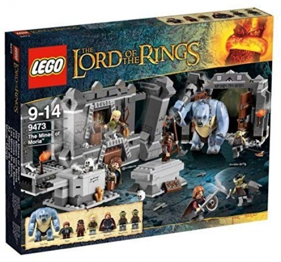 LEGO The Lord of The Rings Herr der Ringe 9473 Die Minen von Moria  [neu]