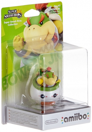 amiibo Super Smash Bros. Collection Bowser Jr. No. 43 (Nintendo Wii U/Switch/3DS/New 3DS)