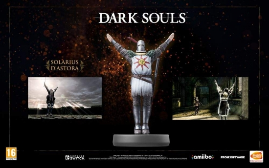 Dark Souls – Solaire of Astora amiibo (Nintendo Wii U/Switch/3DS/New 3DS)