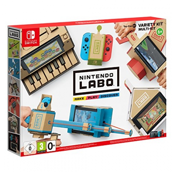 Nintendo Labo Toy-Con 01 Multi-Set (deutsch) (AT PEGI) (Nintendo Switch)