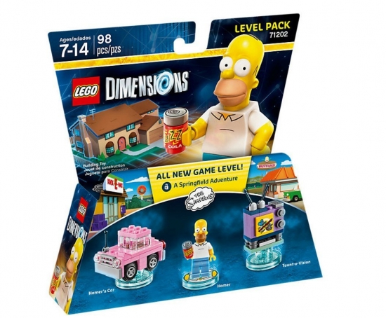 LEGO Dimensions - Simpsons 71202 Level Pack (PS3/PS4/Xbox One/Xbox 360/WiiU)