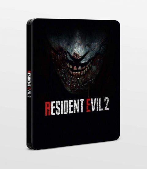 Resident Evil 2 Remake Steelbook [G2] (PC/PS4/X1)