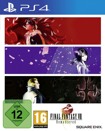 Final Fantasy VIII Remastered (deutsch) (AT PEGI) (PS4)