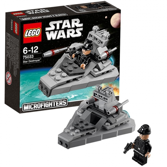 Lego Star Wars Micro Fighters 75033 - Star Destroyer [neu]