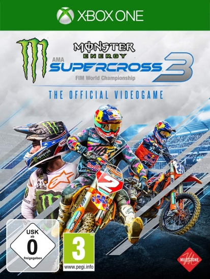 Monster Energy Supercross The Official Videogame 3 (deutsch) (AT PEGI) (XBOX ONE) inkl. Outfit Starting Pack