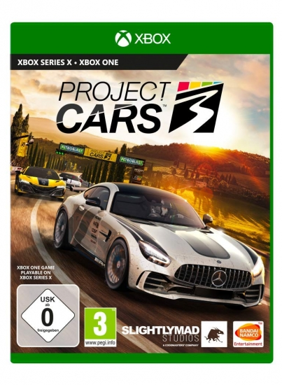 Project Cars 3 (deutsch) (DE USK) (XBOX ONE)