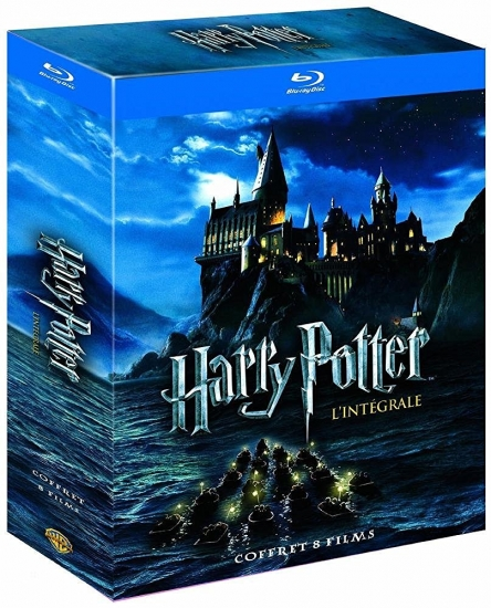 Harry Potter 1-7 - Complete Collection (11 Blu-Ray Disks) (deutsch) (EU-Import) (Blu-ray)
