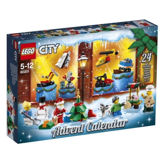 LEGO City 60201 - Adventskalender 2018 [neu]