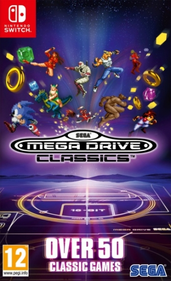 SEGA Mega Drive Classics (deutsch) (AT PEGI) (Nintendo Switch)