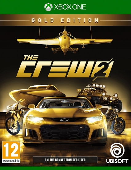 The Crew 2 Gold Edition (deutsch) (AT PEGI) (XBOX ONE) inkl. Season Pass / Legendary Motors-Paket