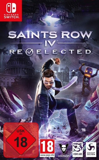 Saints Row IV Re-Elected [uncut] (deutsch) (AT PEGI) (Nintendo Switch)