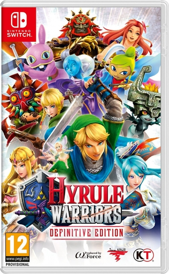 Hyrule Warriors Definitive Edition (deutsch) (AT PEGI) (Nintendo Switch)