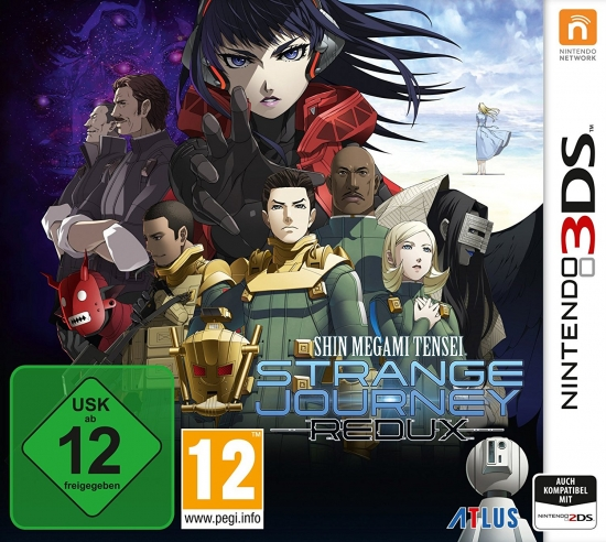 Shin Megami Tensei Strange Journey Redux (deutsch) (AT PEGI) (3DS)