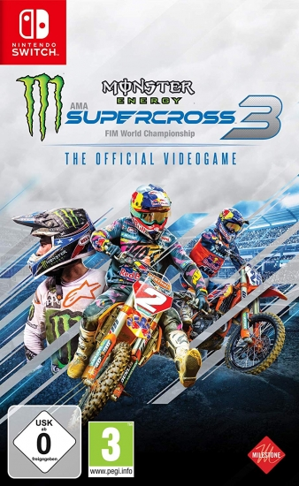 Monster Energy Supercross The Official Videogame 3 (deutsch) (AT PEGI) (Nintendo Switch)