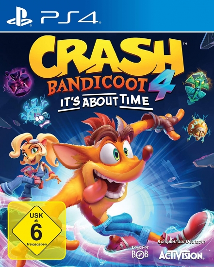 Crash Bandicoot 4 It's About Time (deutsch) (DE USK) (PS4)