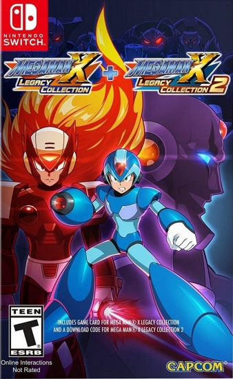 Mega Man X Legacy Collection 1+ 2  (englisch) (US) (Nintendo Switch)