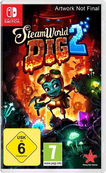 Steamworld Dig 2 (deutsch) (AT PEGI) (Nintendo Switch)