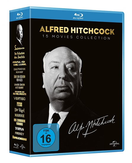 Alfred Hitchcock - Collection (deutsch) (Blu-ray)