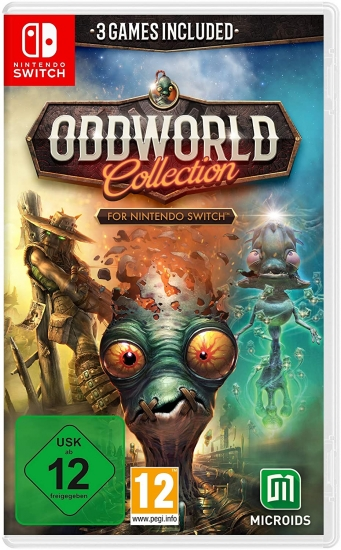 Oddworld Collection (deutsch) (AT PEGI) (Nintendo Switch)