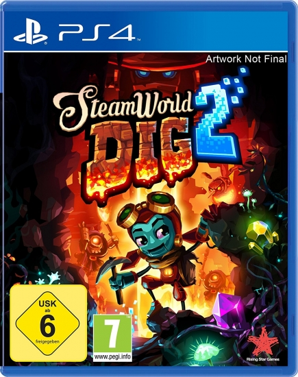 Steamworld Dig 2 (deutsch) (AT PEGI) (PS4)