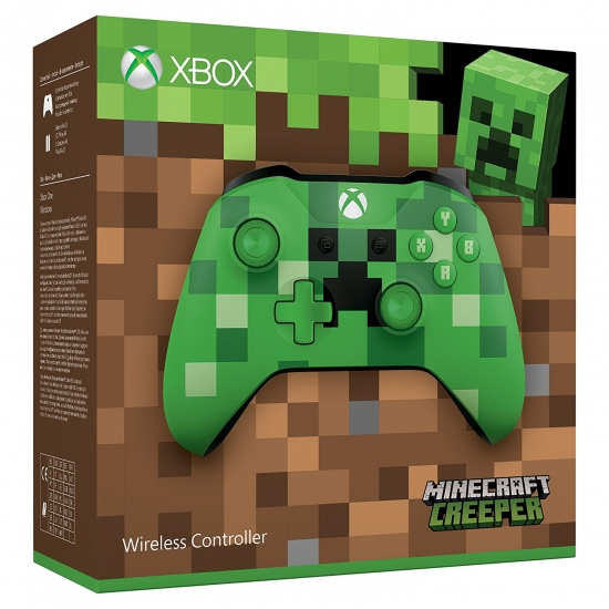 Xbox Wireless Controller 2017 - Minecraft Creeper Green Limited Edition