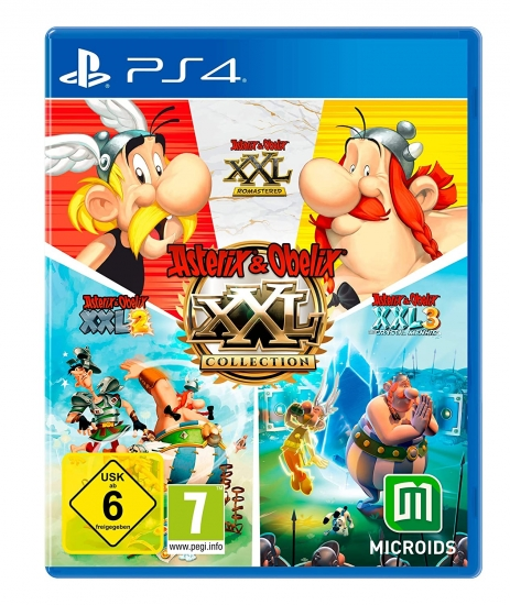 Asterix & Obelix XXL Collection (deutsch) (AT PEGI) (PS4)