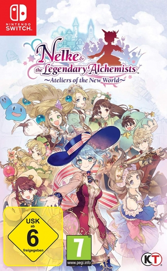Nelke & the Legendary Alchemists Ateliers of the New World  (englisch) (AT PEGI) (Nintendo Switch)