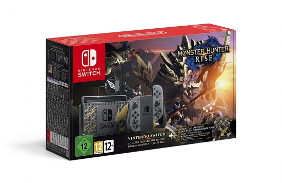 Nintendo Switch Konsole Monster Hunter Rise Limited Edition