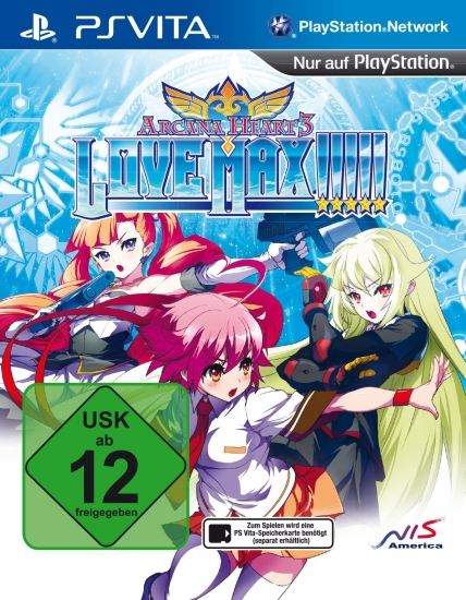 Arcana Heart 3 Love Max!!!!! (deutsch) (DE) (PSV)