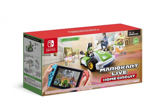 Mario Kart Live Home Circuit - Luigi (deutsch) (AT PEGI) (Nintendo Switch)
