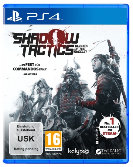 Shadow Tactics Blades of the Shogun (deutsch) (AT PEGI) (PS4)