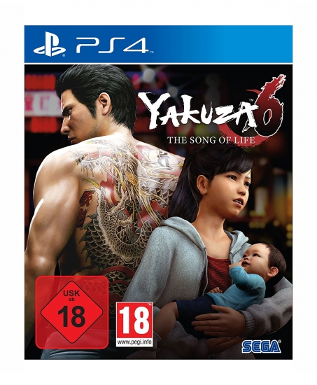 Yakuza 6 The Song of Life - Essence of Art D1 Edition [uncut] (deutsch) (AT PEGI) (PS4)