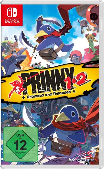 Prinny 1/2 Exploded and Reloaded Just Desserts Edition (englisch) (DE USK) (Nintendo Switch)