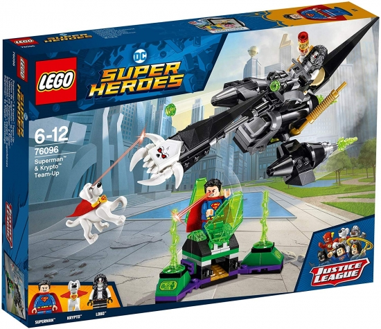 LEGO DC Universe Super Heroes 76096 Superman & Krypto Team-Up [neu]