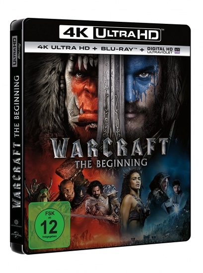 Warcraft: The Beginning UHD (4K Ultra HD) (+ Blu-ray)