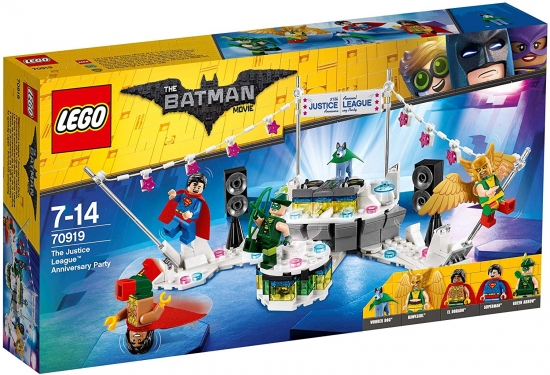 The LEGO Batman Movie 70919 The Justice League Anniversary Party [neu]